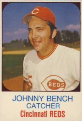 1975 Hostess Johnny Bench 83 Baseball Card Value Price Guide