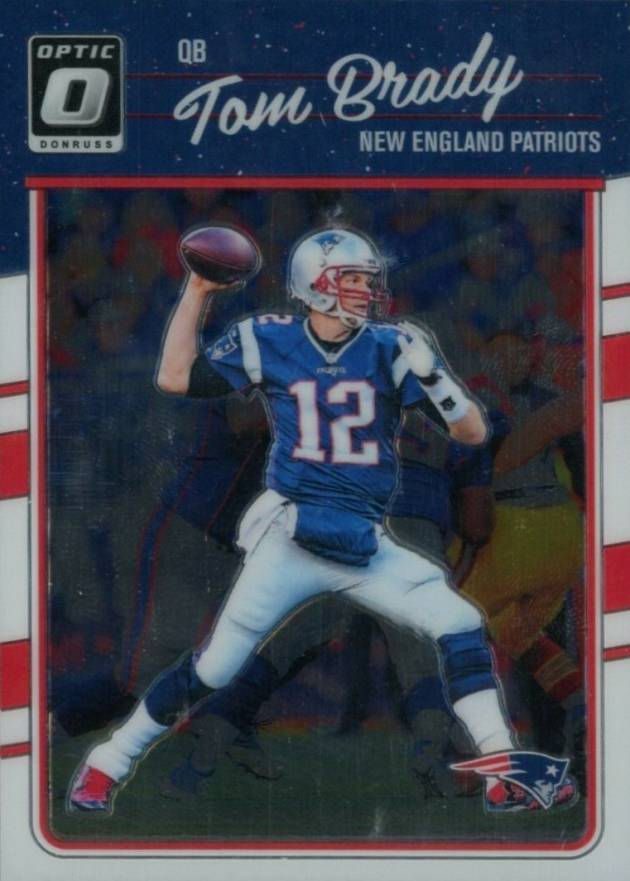 2016 Donruss Optic Tom Brady #62 Football Card