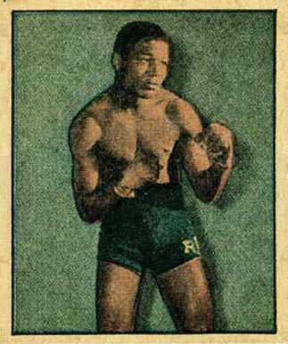 1951 Berk Ross Ray Robinson #2-13 Boxing & Other Card