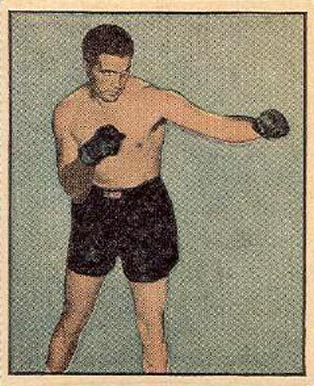 1951 Berk Ross Joe Maxim #2-12 Boxing & Other Card