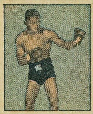 1951 Berk Ross Ike Williams #3-13 Boxing & Other Card