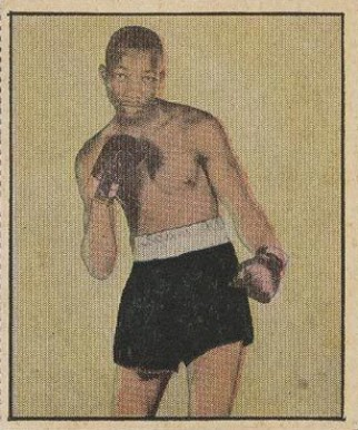 1951 Berk Ross Sandy Saddler #4-12 Boxing & Other Card