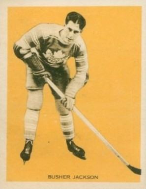 1933 Hamilton Gum Harvey Jackson #29 Hockey Card