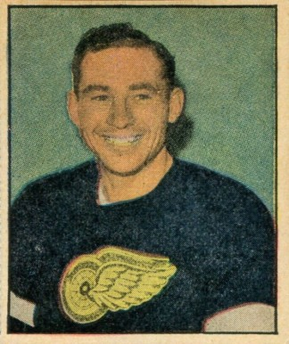 1951 Berk Ross Jack Stewart #2-16 Hockey Card