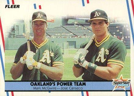 1988 Fleer Glossy Mark Mcgwire 624 Baseball Card Value Price Guide