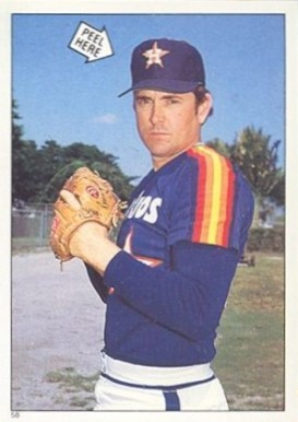 1985 Topps Stickers Nolan Ryan #58 Baseball Card