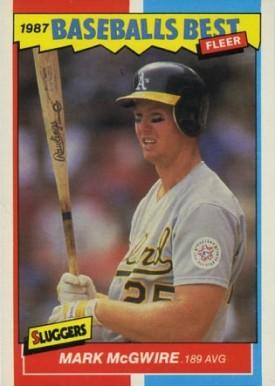 1987 Fleer Baseballs Best Mark Mcgwire 26 Baseball Vcp Price Guide