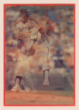 1987 Sportflics Nolan Ryan #125 Baseball Card