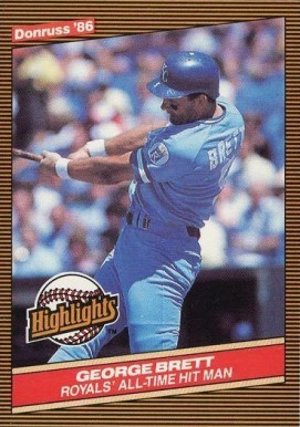1986 Donruss Highlights Baseball Card Set - VCP Price Guide