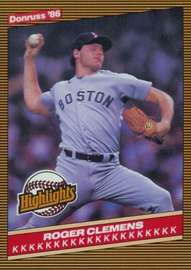 1986 Donruss Highlights Baseball Card Set Vcp Price Guide