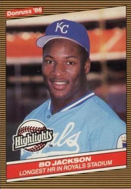 Bo Jackson Baseball Cards