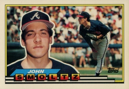 1989 Topps Big Baseball John Smoltz 260 Baseball Vcp