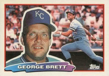 1988 Topps Big Baseball George Brett 157 Baseball Vcp