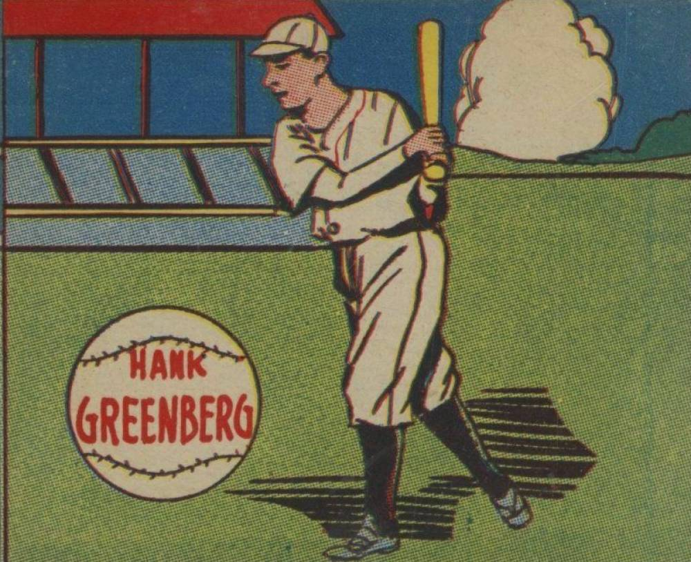 1943 M.P. & Co. Hank Greenberg # Baseball Card