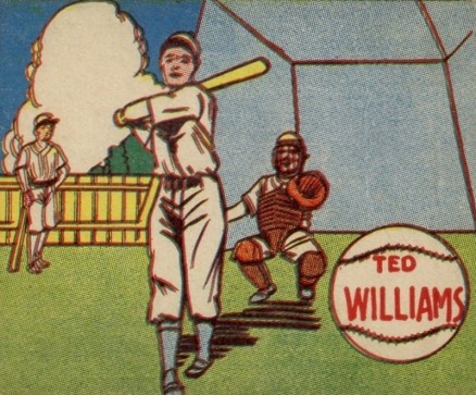 1943 M.P. & Co. Ted Williams # Baseball Card