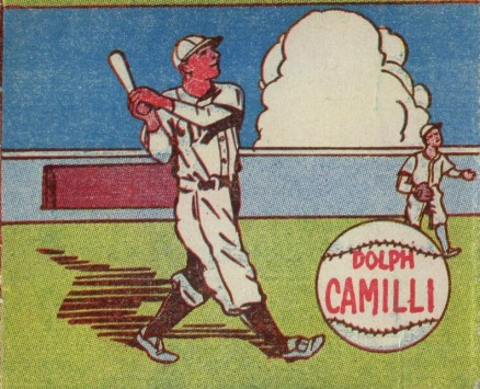 1943 M.P. & Co. Dolph Camilli # Baseball Card