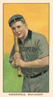 1909 White Borders (Piedmont & Sweet Caporal) Ike Rockenfeld #414 Baseball Card