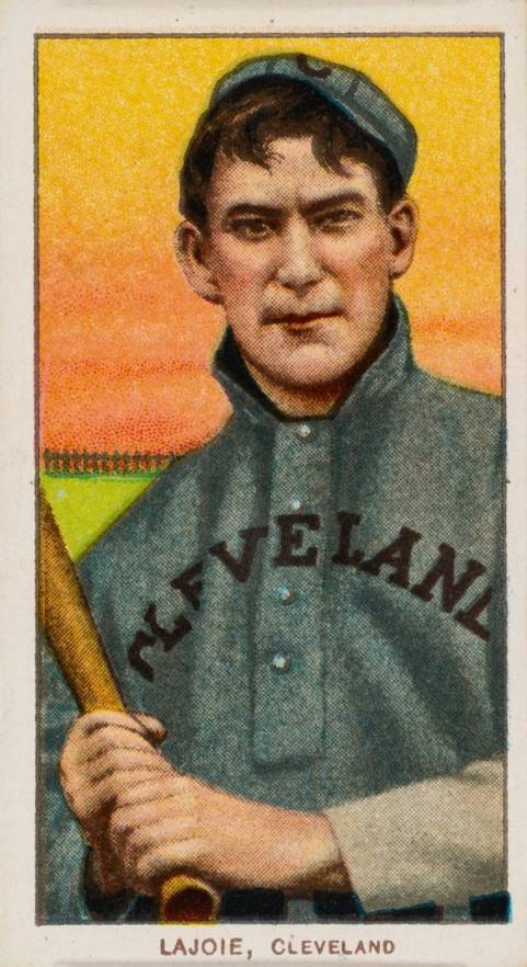 1909 White Borders Piedmont & Sweet Caporal Lajoie, CLeveland #271 Baseball Card