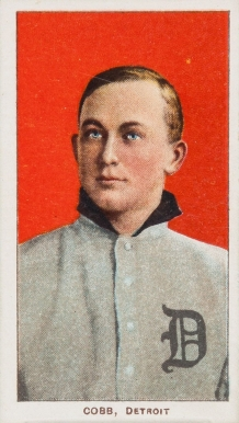 1909 White Borders (Piedmont & Sweet Caporal) Ty Cobb #96 Baseball Card