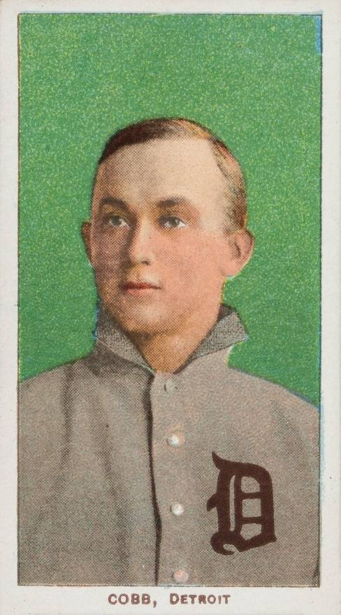1909 White Borders Piedmont & Sweet Caporal Cobb, Detroit #95 Baseball Card