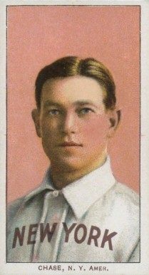 1909 White Borders Piedmont & Sweet Caporal Chase, N.Y. Amer. #84 Baseball Card
