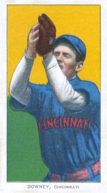 1909 White Borders (Piedmont & Sweet Caporal) Tom Downey #145 Baseball Card