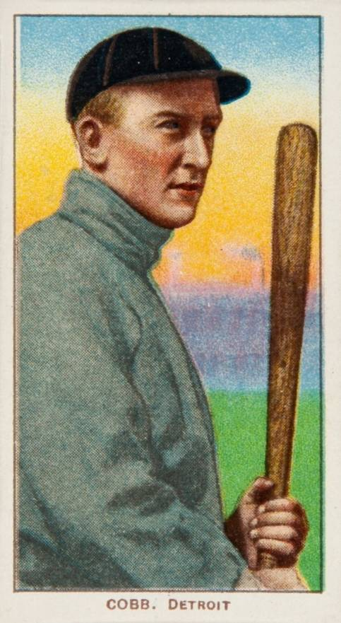 1909 White Borders Piedmont & Sweet Caporal Cobb, Detroit #98 Baseball Card