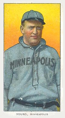 1909 White Borders (Piedmont & Sweet Caporal) Irv Young #524 Baseball Card