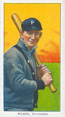 1909 White Borders (Piedmont & Sweet Caporal) Owen Wilson #516 Baseball Card