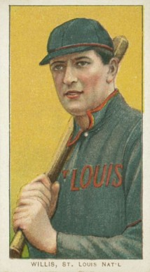 1909 White Borders (Piedmont & Sweet Caporal) Vic Willis #515 Baseball Card