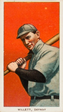 1909 White Borders (Piedmont & Sweet Caporal) Ed Willett #510 Baseball Card