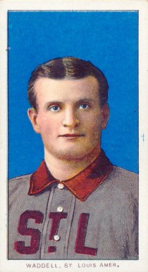 1909 White Borders (Piedmont & Sweet Caporal) Rube Waddell #493 Baseball Card