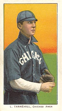 1909 White Borders (Piedmont & Sweet Caporal) Lee Tannehill #477 Baseball Card