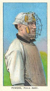 1909 White Borders (Piedmont & Sweet Caporal) Mike Powers #398 Baseball Card