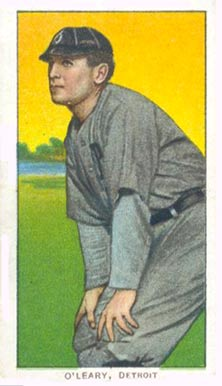 1909 White Borders (Piedmont & Sweet Caporal) Charley O'Leary #368 Baseball Card