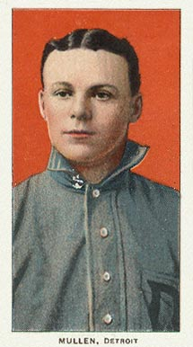 1909 White Borders (Piedmont & Sweet Caporal) George Mullin #347 Baseball Card