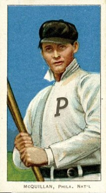 1909 White Borders (Piedmont & Sweet Caporal) George McQuillan #329 Baseball Card