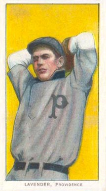 1909 White Borders (Piedmont & Sweet Caporal) Jimmy Lavender #278 Baseball Card