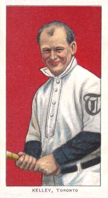 1909 White Borders (Piedmont & Sweet Caporal) Joe Kelley #249 Baseball Card
