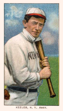 1909 White Borders (Piedmont & Sweet Caporal) Willie Keeler #248 Baseball Card