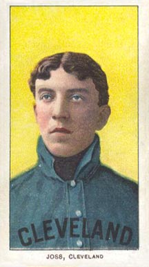 1909 White Borders (Piedmont & Sweet Caporal) Addie Joss #245 Baseball Card