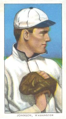 1909 White Borders (Piedmont & Sweet Caporal) Walter Johnson #235 Baseball Card