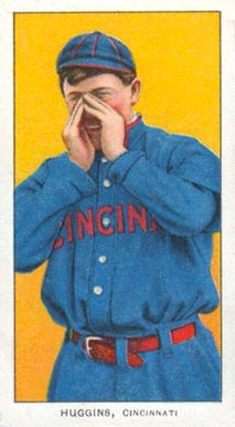 1909 White Borders (Piedmont & Sweet Caporal) Miller Huggins #224 Baseball Card