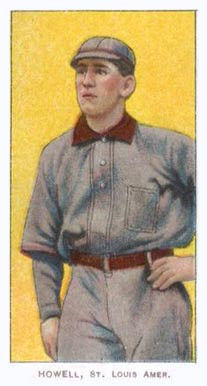 1909 White Borders (Piedmont & Sweet Caporal) Harry Howell #222 Baseball Card