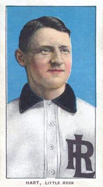 1909 White Borders (Piedmont & Sweet Caporal) Bill Hart #204 Baseball Card