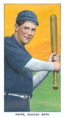 1909 White Borders (Piedmont & Sweet Caporal) Ed Hahn #200 Baseball Card