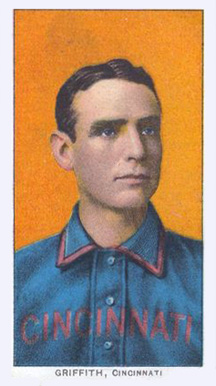 1909 White Borders (Piedmont & Sweet Caporal) Clark Griffith #196 Baseball Card