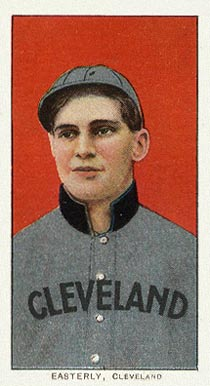 1909 White Borders (Piedmont & Sweet Caporal) Ted Easterly #158 Baseball Card