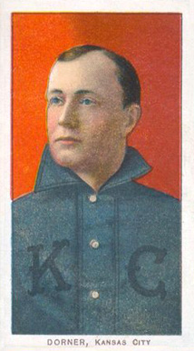 1909 White Borders (Piedmont & Sweet Caporal) Gus Dorner #141 Baseball Card