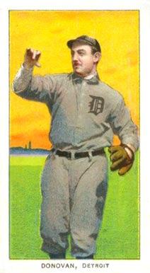 1909 White Borders (Piedmont & Sweet Caporal) Wild Bill Donovan #136 Baseball Card